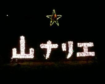 「山ナリエ」って知ってる?日本各地の住宅街イルミネーションがスゴイ!