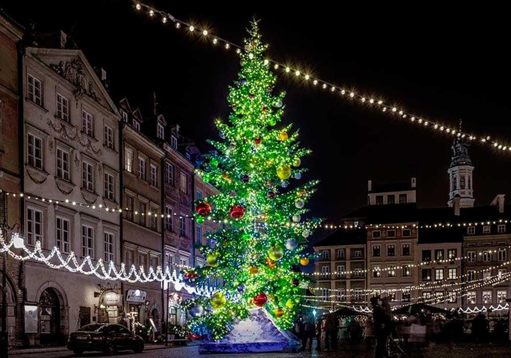 世界最大のクリスマスツリーはブラジル!日本にもギネスツリーがあった