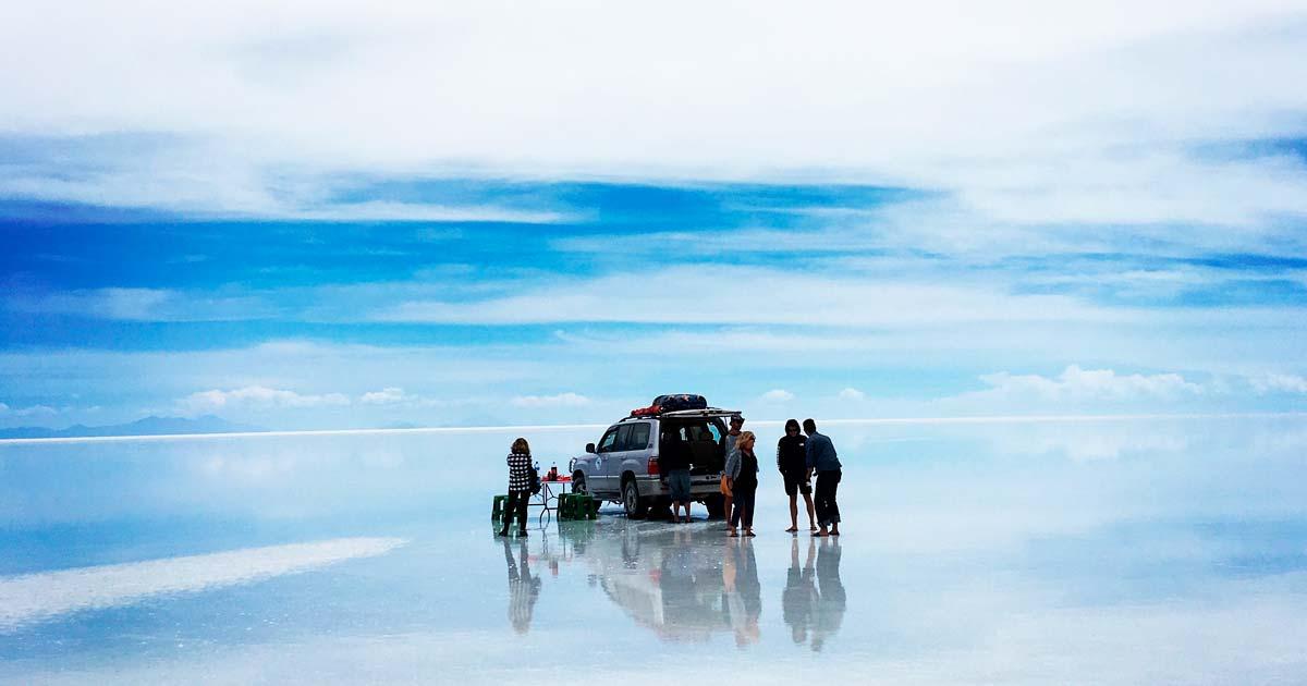 ウユニ塩湖みたい!日本の絶景海岸一覧