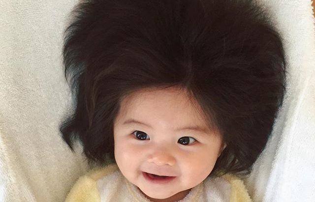 爆毛赤ちゃんbabychancoの現在は?髪の毛は剛毛化?!