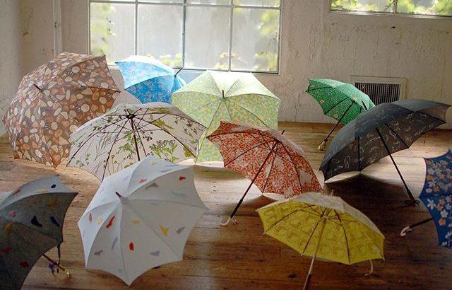 イイダ傘店のオーダー傘がかわいい!注文方法や価格 納期は?